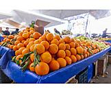 Oranges, Fruit Stand