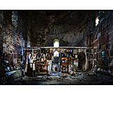Christianity, Church, Dilapidated, Icon, Worship, Altar, Religion, Georgia