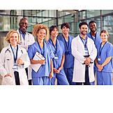 Team, Hospital, Staff