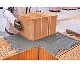 Brick, Building Construction, Carcass, Cement