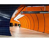 Subway Train, Munich, S-bahn, Public Transport