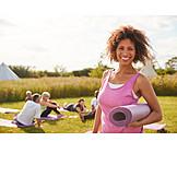 Yoga, Yoga mats