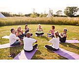 Meditating, Yoga, Festival