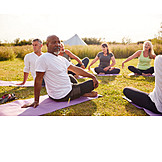 Yoga, Stretching, Outdoor