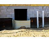 Building Construction, Basement Window