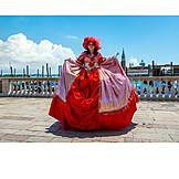 Carnival, Stage Costume, Venetian