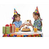 Birthday, Gift, Hand Over