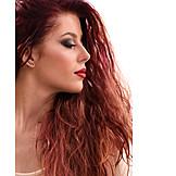 Rote Haare, Make Up, Schönheitspflege