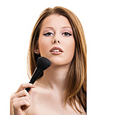 Make Up, Schönheitspflege, Schminkpinsel