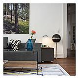 Domestic Life, Flower Vase, Living Room