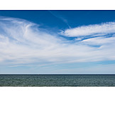 Horizon, Sea, Clouds