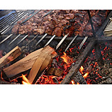 Broiling, Kebabs, Barbecue