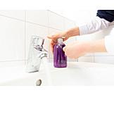 Liquid Soap, Washing Hands, Disinfect
