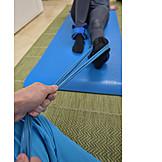 Leg, Stretch, Injury, Rehabilitation, Physiotherapy