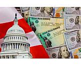 Usa, Economy, Congress, Corona Virus