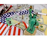 Usa, Wirtschaft, Freiheitsstatue