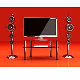 Tv, Display, Computer monitor, Television, Flat panel