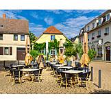 Gastronomy, Restaurant, Market Square, Werder