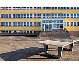 School, Schoolyard, Schoolhouse