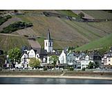 Rüdesheim am rhein, Assmannshausen, Hesse