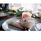 Wedding, Place Setting, Festive, Wedding Table