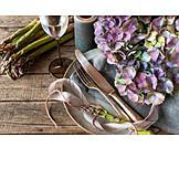 Gastronomy, Decoration, Asparagus Time