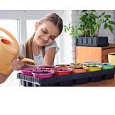 Seed, Gardening, Seeds, Watering Can, Watering