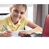 Zuhause, Bildung, Lernen, Hausaufgaben