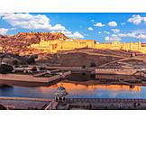 Fortress, Jaipur, Amber fort, Amer