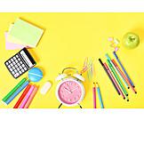 School, Back To School, Stationery