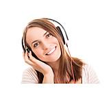 Music, Listen, Headphones