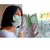 Home, Quarantine, Corona Virus