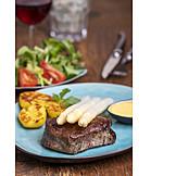 Steak, Meat Dish, Beef Fillet