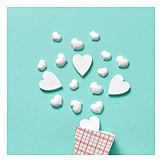 Süßigkeit, Herz, Valentinstag