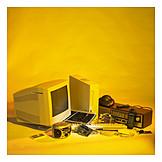 Recycling, Scrap, Recycling, Scrap Metal, Electronic Scrap