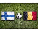 Soccer, Finland, Belgium