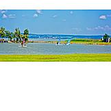 Surf school, Lake neusiedl