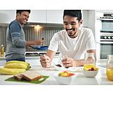 Breakfast, Relationship, Homogamous