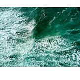 Ozean, Wellen, Gischt