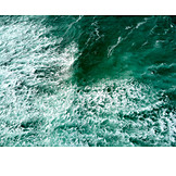 Ocean, Waves, Spray