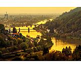 Heidelberg, Evening light