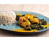 Indische Küche, Saagwala