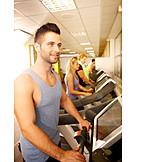Treadmill, Gym, Workout