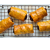 Puff Pastry, Sausages