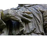 Hand, Stone Sculpture