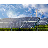 Windenergie, ökostrom, Solarstrom
