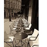 Gastronomy, Sidewalk Cafe, Bistro