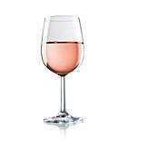 Wine, Wine Glass, Rose Wine