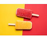 Popsicle, Ice cream, Flavored ice
