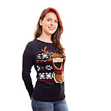Fashion, Sweater, Xmas